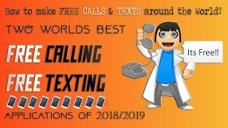 New BEST FREE CALLING Apps of 2018/2019 || Trending Free Call Application 2018 #Free_Call