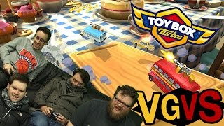Toybox Turbos: The VGVS! - VideoGamer