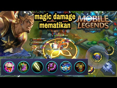 Gatotkaca build item, sakitnya minta ampun - mobile legends