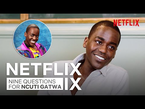 The Ncuti Gatwa Sex Education Interview | Netflix IX