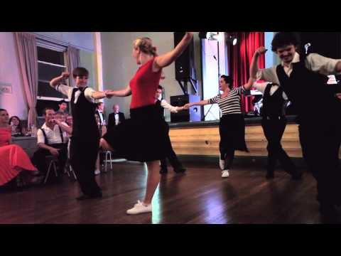 Harbour City Hoppers - 'Doin The Jive' at Meet The Scene Ball 2013