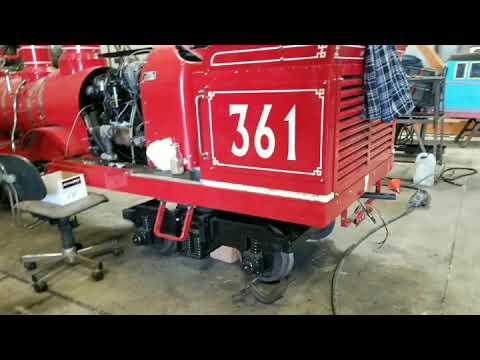 C.P. Huntington Train Diesel Conversion