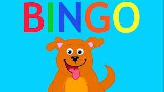 BINGO - Dog Song Nursery Rhymes for Children