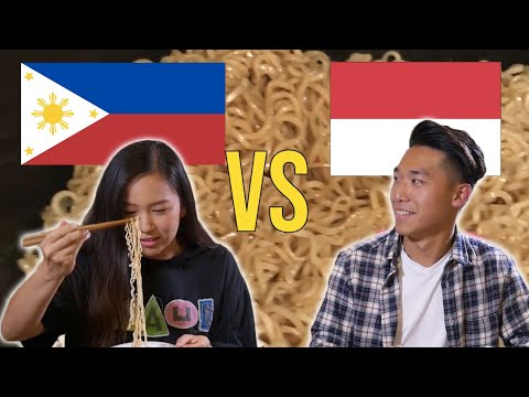 Asians Choose Their Favorite Fried Noodle Brand