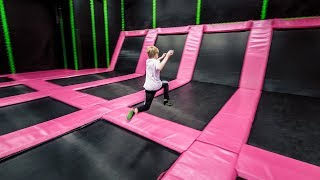 Indoor Playground Trampoline Park Fun for Kids