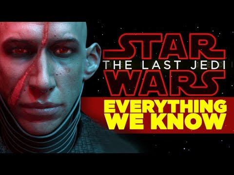 Thumbnail: Star Wars Last Jedi - EVERYTHING WE KNOW (All Characters, Planets, New Plot Details)