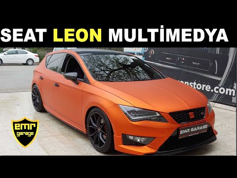 Yeni Seat Leon Android Multimedya Navigasyon Ekran Montajımız - Emr Garage Ankara