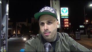🍭 Me Encontré A Nicky Jam Echando Gasolina A Su Lujoso Auto, Mira Su Reacción Y Lo Que Me Contó