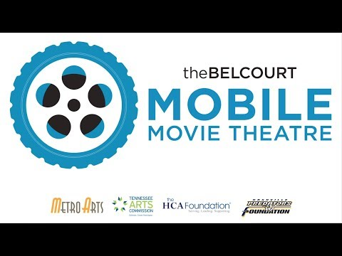 The Belcourt's Mobile Movie Theatre