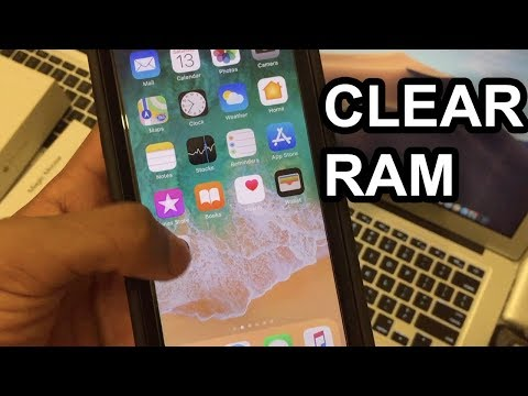 How To Clear RAM on iPhone X,Xr,XS,XS Max
