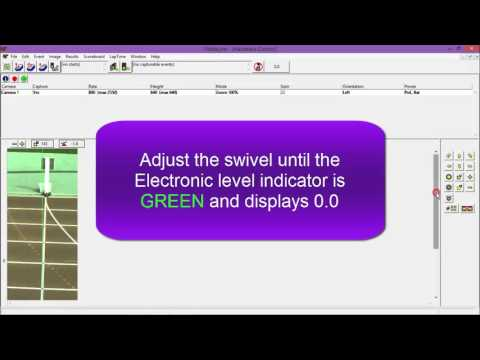 How to Use the Electronic Level Indicator in FinishLynx