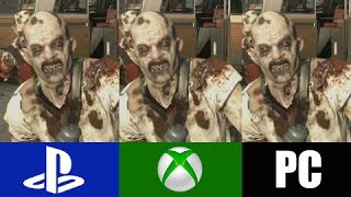Dying Light | PS4 VS XBOX ONE VS PC | Graphics Comparison