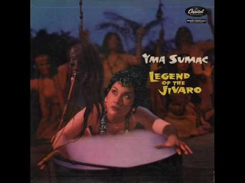 Yma Sumac ‎Legend Of The Jivaro (Semi album)