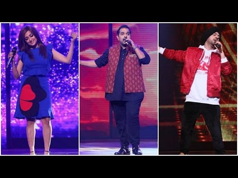Rising Star | Colors TV New Show Launch - Diljit Dosanjh - Shankar Mahadevan - Monali Thakur