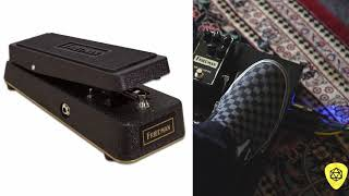 2018 Friedman Amplification - Gold 72 Wah Pedal Demo