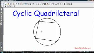 Circle Properties (Inscribed and Central angles, Cyclic Quadrilateral, etc)