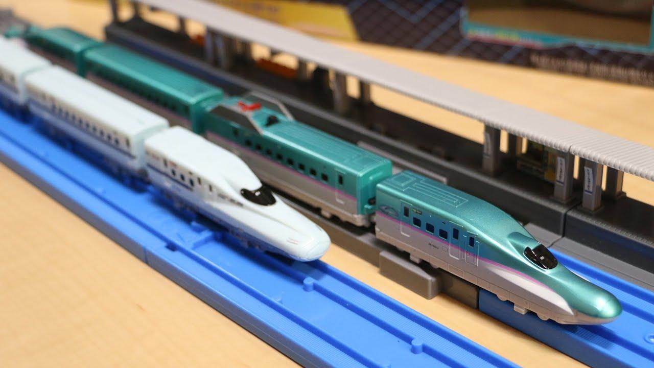 プラレールアドバンス e5系新幹線 連結&複線ポイントレールセット