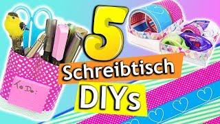 5 DIY SCHREIBTISCH MAKEOVER Ideen | Organisieren & Dekorieren mit tesa | DIY Inspiration *Werbung