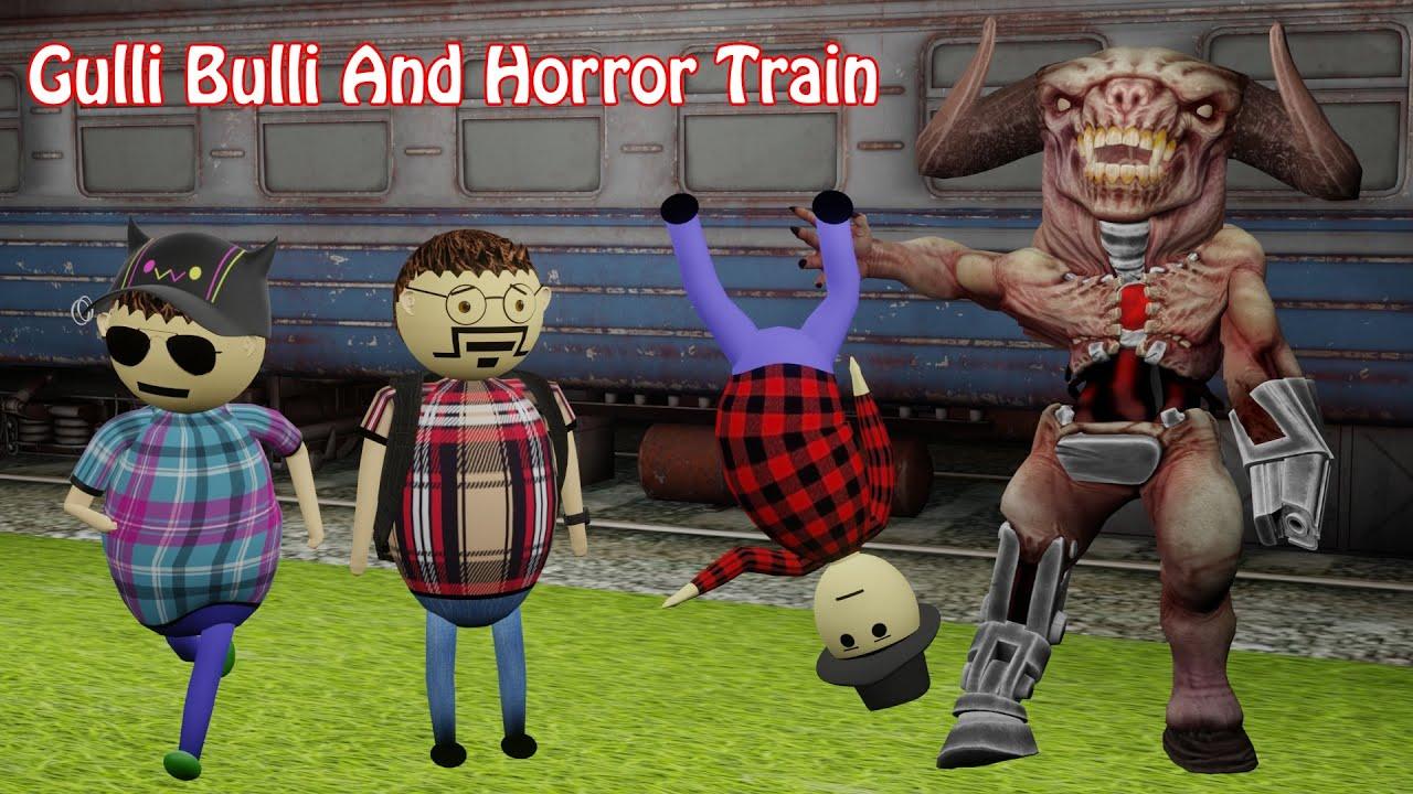 Download Gulli Bulli And Horror Train Part 2   Haunted Railway Station   Haunted Train   Make Joke Horror