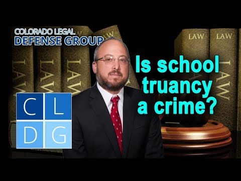 School truancy in Colorado – Can it be a crime?