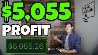 $5,055 Profit Day Trading Natural Gas ETF