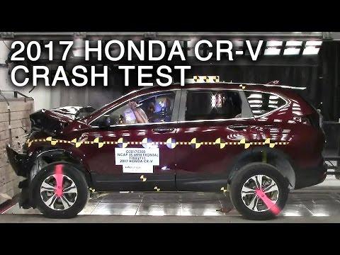 2017 Honda CR-V Frontal Crash Test