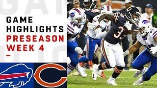 Bills vs. Bears Highlights | NFL 2018 Preseason Week 4