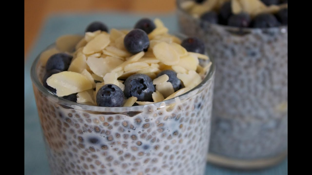Gesundes Frühstück Rezept : chia samen rezept chia pudding mit heidelbeeren ~ Watch28wear.com Haus und Dekorationen