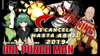 One Punch Man 2 CANCELADA hasta 2019 JC.STAFF lo cambia todo
