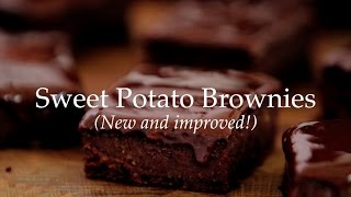 Deliciously Ella - Sweet Potato Brownies (New Recipe!)