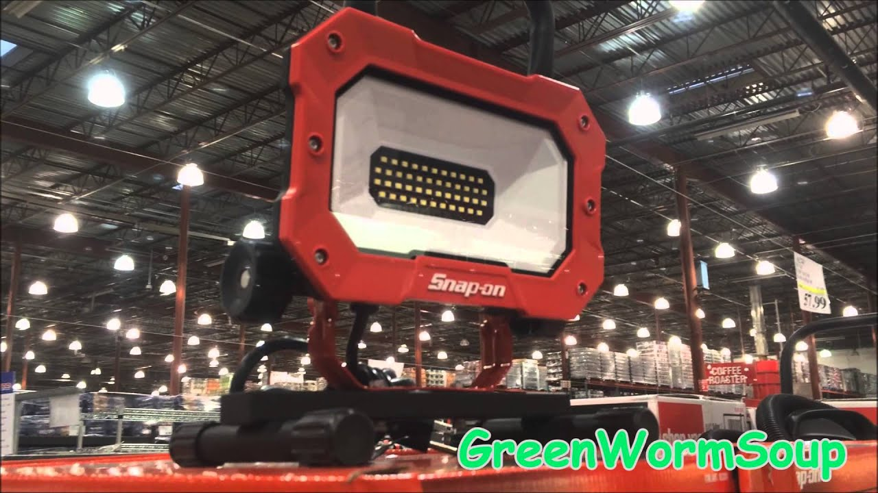 30 99 Snap On Led Work Light Costco Store Anchorage