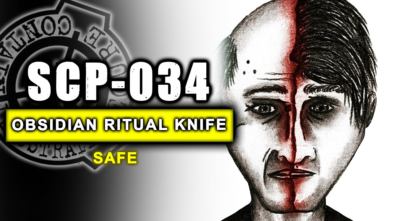 SCP-034 illustrated (Obsidian Ritual Knife) - Previously Unlisted