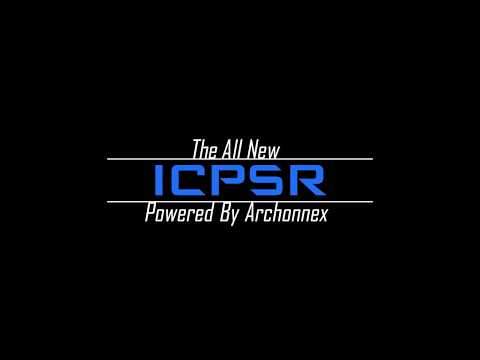 We're live! ICPSR launches a new data dissemination system