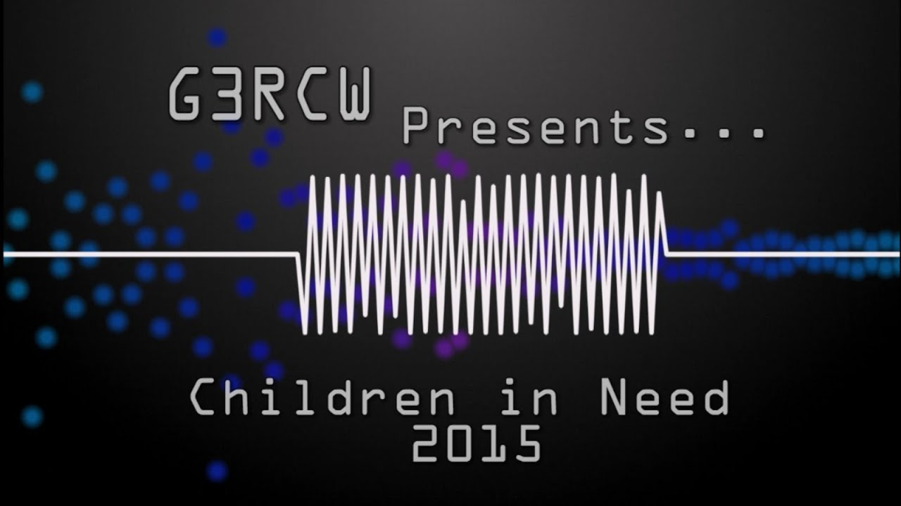 G3RCW | Children in Need 2015