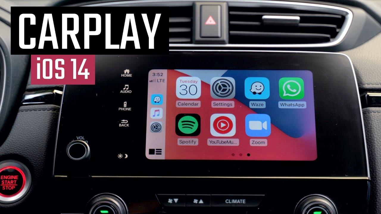 Novidades do CarPlay no iOS 14!