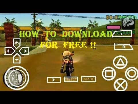 gta game for ppsspp free download
