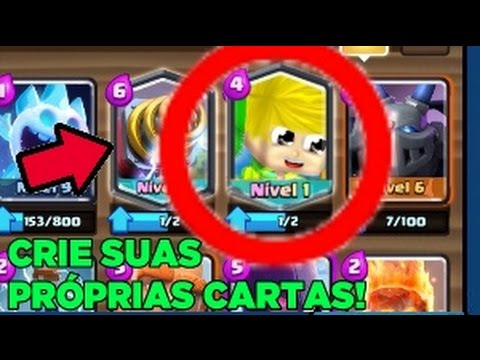 Como Fazer Cartas De Clash Royale Android Youtube