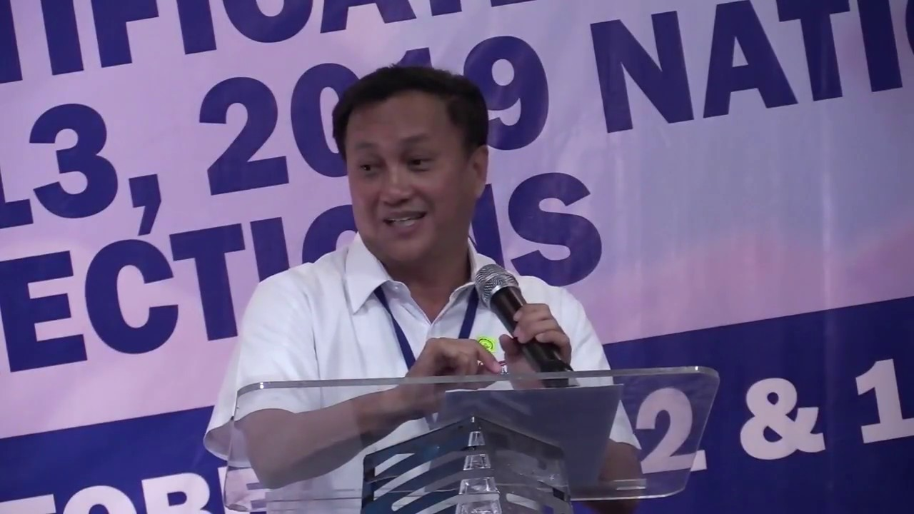FULL Q&A: Tolentino files COC for senator