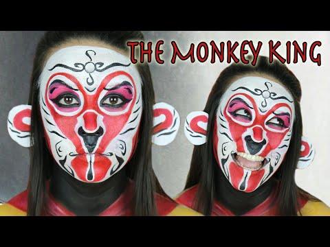Monkey King Opera Mask   Year Of The Monkey
