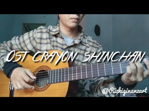 Ost Crayon Shinchan - Fingerstyle Cover (akustik Cover)