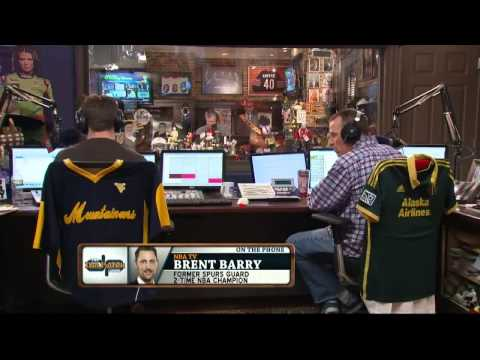 Brent Barry on the Dan Patrick Show (Full Interview) 3/10/14