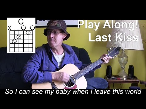 Last Kiss With Lyrics/Chords Acoustic Cover - P41