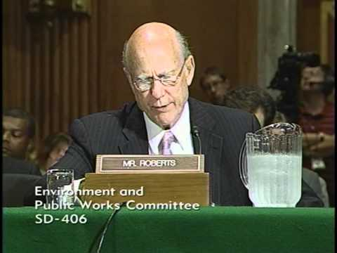 Sen. Roberts Testifies Before EPW Committee on Missouri River Flooding Issues