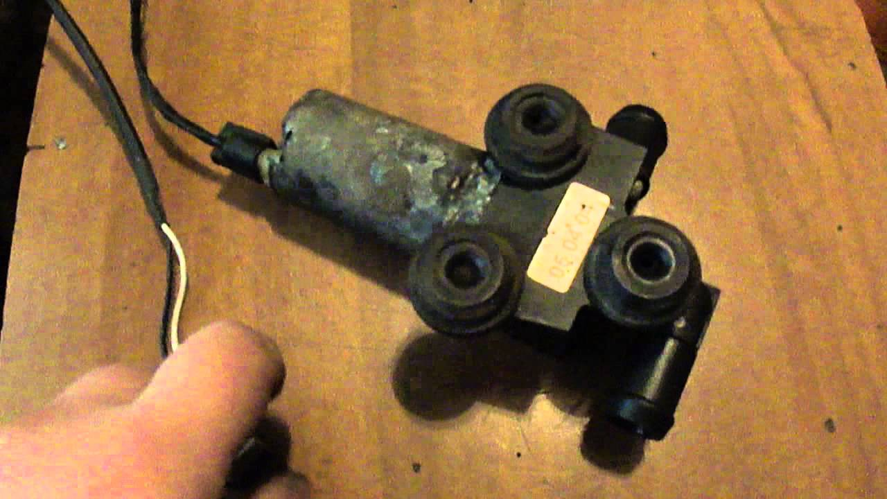 bmw e90 2005 n46 restored auxiliary water pump