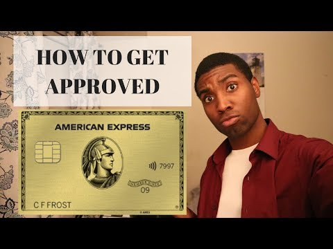 New American Express Gold Card | How To Get Approved