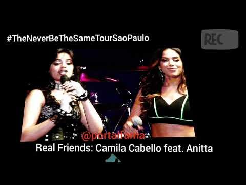 Camila Cabello Feat.  Anitta REAL FRIENDS Z Festival 2018
