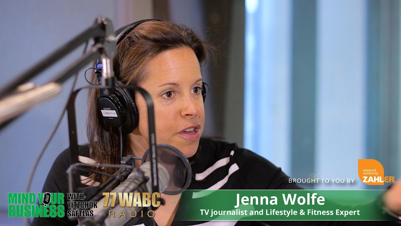 Jenna Wolfe Talks Fitness And Health On 77wabc Mind Your Business