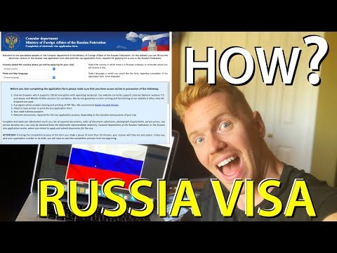 RUSSIAN VISA | How To Get It - STEP BY STEP Process (Travel Russia)