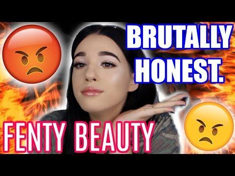 BRUTALLY HONEST FENTY BEAUTY REVIEW... | Jordan Byers