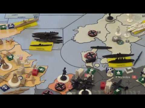 Axis and Allies Global 1939 Germany's Second Impulse Results